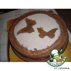 Рецепт: Творожно-клубничный торт