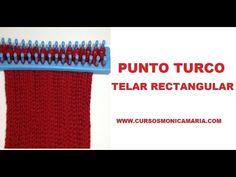 PUNTO TURCO TELAR RECTANGULAR // Tutorial Puntos Basicos Telar