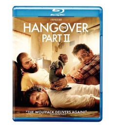 The Hangover Part II Blu-Ray Disc And DVD Hilarious Gag Real Funny Party Movie
