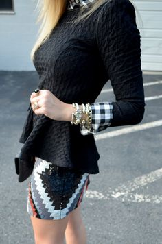 :: Houndstooth & High Heels ::