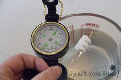 Life with Moore Babies: Homemade Compass for Katy and the Big Snow