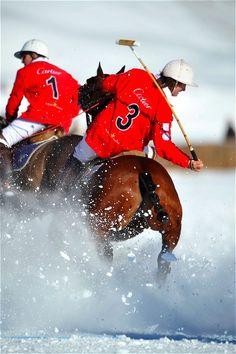 POLO St. Moritz World Cup on Snow 2009 (04) von H. Schupp