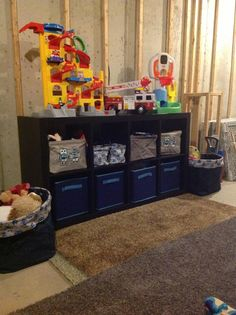 Toy organization with the help of Thirty-One's Clearance sale.