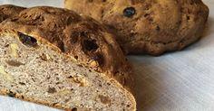 Juureen leivottu pähkinäinen sekaleipä – Sourdough bread with walnuts Sourdough Bread, Rye, Food, Yeast Bread, Essen, Meals, Yemek, Rye Grain, Eten
