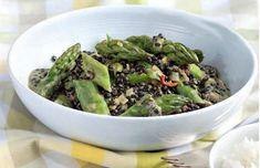Belugalinsen-Kokos-Curry mit grünem Spargel | Blog Köstlich Vegetarisch | Bloglovin'