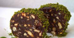 İşte budur dediğim bir mozaik pasta oldu..... az biraz truff tadında gibi ama ben biliyorum o mozaik pasta...:) normalde margarin ta...