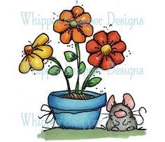 Flowerpot & Mouse