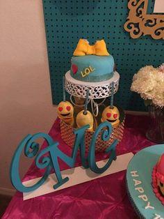Awesome emoji birthday party   CatchMyParty.com