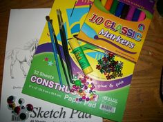 Must have crafts supplies for a dollar or less!