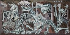X-Ray Guernica by Ron English.