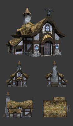 Dragon Nest Model 3D by Infranox on DeviantArt