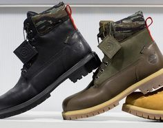 Timberland x Black Scale