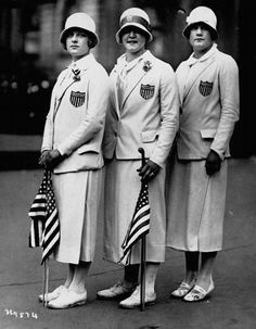Olympic Fashion, 1920s style.