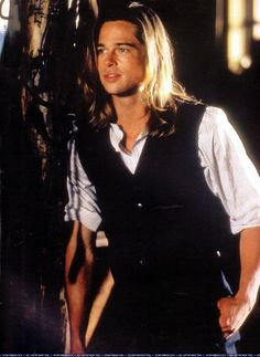 Brad Pitt Legends of the Fall. Good lord.