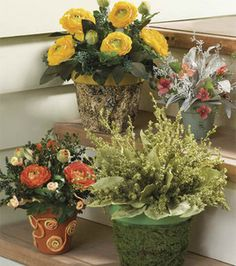 Flower arrangements you can do ;)