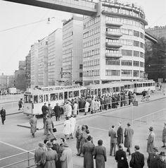 Invigning av tunnelbanan mellan Slussen och Hökarängen - Stockholmskällan