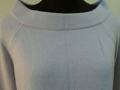 Purple Sweater Rabbit hair blend ANN TAYLOR Loft boat neck Bell Sleeve Womens L #ANNTAYLORLOFT #BoatNeck