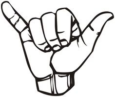 Sign language Y - Shaka sign - Wikipedia, the free encyclopedia