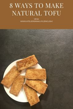 "In the next episode of the ""Step by Step"" series, we present you our 8 favorite ways to make natural salty tofu. They are all very simple. Everyone will succeed! Tzatziki, Gluten Free Recipes, Tofu, Feta, Lunch, Simple, Ethnic Recipes, Nature, How To Make"