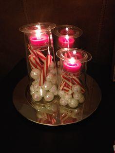 Holiday Christmas decor partylite symmetry trio