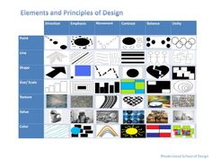 this is a great visual link showing how the elements and principles work together