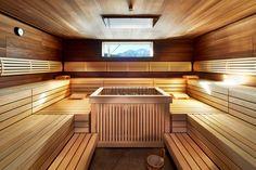 Sauna mit Blick zum Wildseeloder Wellness, Sauna, Stairs, Hot, Home Decor, Steam Room, Travel Destinations, Pictures, Ladders
