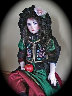 """Snow White"" one of a kind by Jamie Williamson"