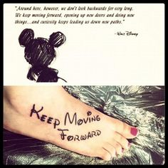 I have an obsession with everything Disney. This is my first Disney tattoo and I have many more that I want <3