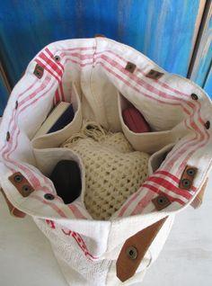 21-V. Hímzett táska/antik vászonhímzés táska/eredeti kézzel hímzett vászon táska/ újrahasznosított vászonhímzés (HarmonicStyle) - Meska.hu