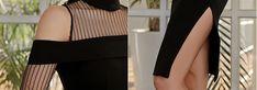 2017 Mulheres de Inverno Vestido Preto Fora do Ombro Manga Longa Gaze Patchwork Dividir Vestido Sexy Clube Festa Bandage Bodycon Vestidos em Vestidos de Das Mulheres Roupas & Acessórios no AliExpress.com   Alibaba Group