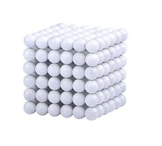 Magnetic Sphere Buckyballs Neocube 216pcs Ball 5mm Puzzle White $22.00 Free Shipping.  http://www.aomagnet.com/magnet-sphere-c-1_5/magnetic-sphere-buckyballs-neocube-216pcs-ball-5mm-puzzle-white-p-10.html