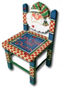 Santa Chair love the idea