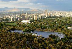 Mexico City, Bosque y Lago de Chapultepec