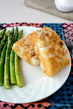 Coconut Crusted Cod - Grain & Dairy Free *This was really good and easy to make.  I sprinkled some Coconut Aminos on it during the last 3 min of baking.  Very tasty.  -AG 11/7/14*
