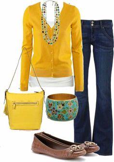 Coach Classic Duffle Leather Shoulder Bag Yellow