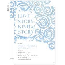 Fabled Love Wedding Invite