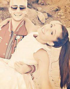 Ariana and frankie grande