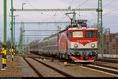 742-7 CFR Calatori - Romanian Railways 477 / ASEA at Békéscsaba, Hungary by Sly77 Locomotive, Hungary, Automobile, Journey, Fancy, Vehicles, Car, The Journey, Locs