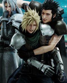 Final Fantasy Crisis Core, Final Fantasy Cloud, Final Fantasy Artwork, Final Fantasy Characters, Final Fantasy Vii Remake, Fantasy Series, Cloud And Tifa, Cloud Strife, Final Fantasy Collection