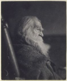 Immensely skilled poet Walt Whitman resembling, with his lanky beard and well creased face, Father Time in a portrait that was snapped just a year before this fascinating man passed away (in Book Writer, Book Authors, Books, Old Pictures, Old Photos, Father Time, Writers And Poets, Walt Whitman, Vintage Photographs