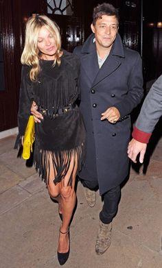 Kate Moss Fringe Dress
