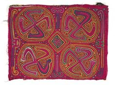 Kuna Indian inspired, San Blas Islands✋Molas are beautiful applique and embroidery  More Pins Like This At FOSTERGINGER @ Pinterest✋
