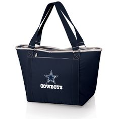 The Dallas Cowboys Topanga Cooler Tote is an insulated tote bag perfect for Dallas fans!