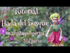Dandelion, Flowers, Plants, Youtube, Desert Rose, Woodland Creatures, Forest Fairy, Polymer Clay Fairy, Elves