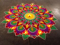 India rangoli images gallery rangoli india drawing art gallery easy coloring pages for kids - excellent Coloring pages ideas. Rangoli Designs Latest, Colorful Rangoli Designs, Rangoli Designs Diwali, Diwali Rangoli, Rangoli Designs Images, Beautiful Rangoli Designs, Latest Rangoli, Rangoli Patterns, Rangoli Ideas