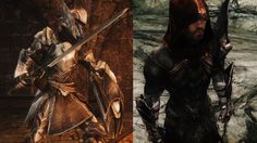 Kynesguard and Daedra Hunter Weapons and Armor