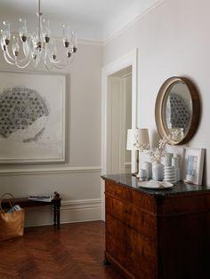 Herringbone Parquet = my dream house flooring Design Entrée, Herringbone Wood Floor, White Appliances, Parquet Flooring, Floors, White Walls, Home Interior Design, Entryway Tables, Living Spaces