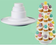 4-Tier Stacked Dessert Tower