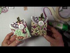 """Tutorial: Geschenktüte """"Geteilte Leidenschaft"""" mit Produkten von Stampin' Up! - YouTube"""