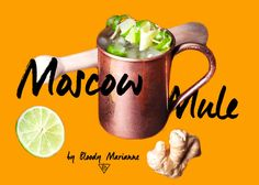 Moscow Mule by Bloody Marianne #cocktail #mixology